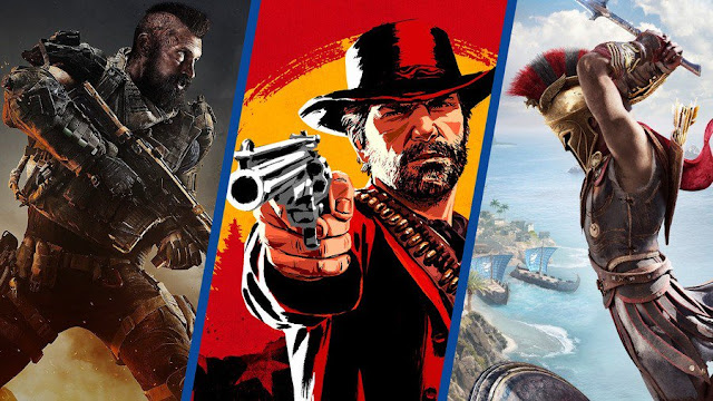 دراسة: الكشف عن أكثر الألعاب المرتقبة من طرف الجمهور الأمريكي نهاية العام ، ما رأيكم ؟