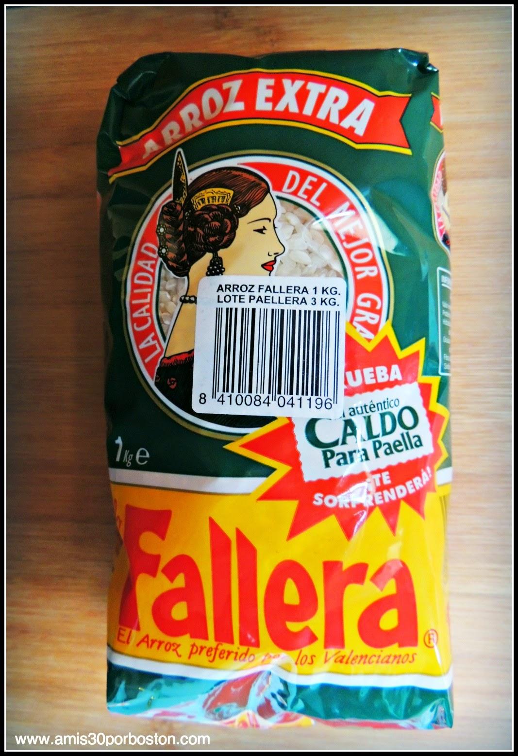 Los Productos Españoles en mis Maletas a Boston: Arroz