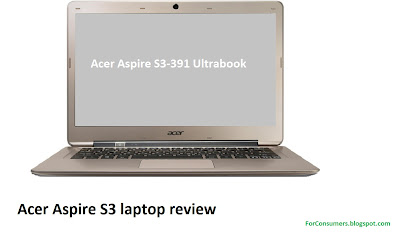 Acer Aspire S3-391 Ultrabook review