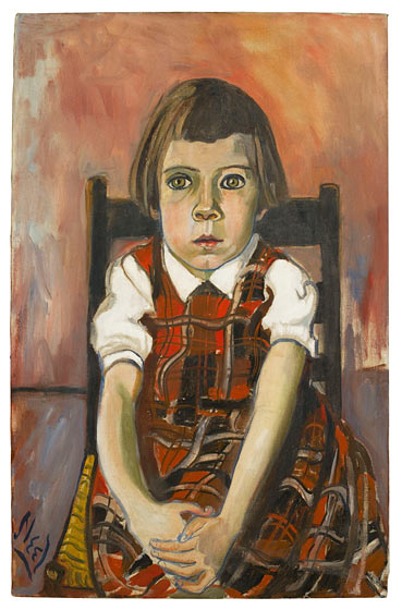 The Whistling Girl Alice Neel The Artist Of Unredeemed