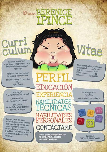 curriculum vitae ejemplos
