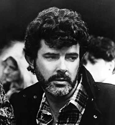 Imagen de George Lucas en 1986