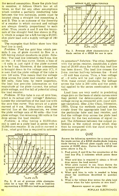 Using Load Lines - 1956
