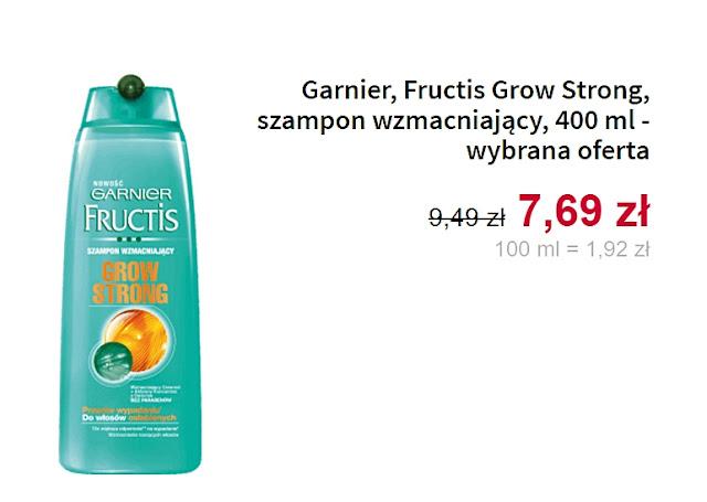 Garnier, szampon wzmacniający