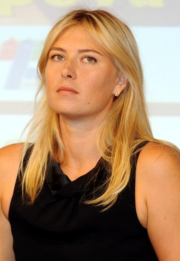 maria sharapova fan blog press conference in milano