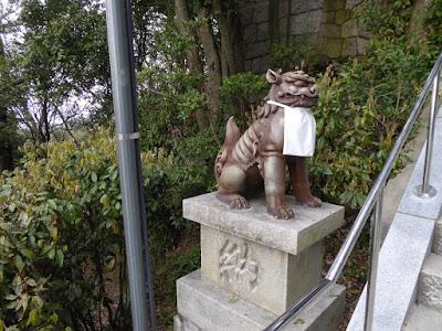 星田妙見宮 狛犬
