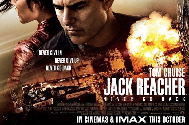 Jack Reacher Never Go Back Streaming