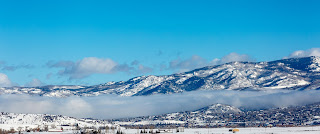 fog coming in over Steamboat Springs