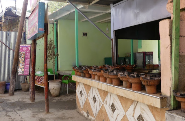 Setti-Fatma - Restaurant am Straßenrand