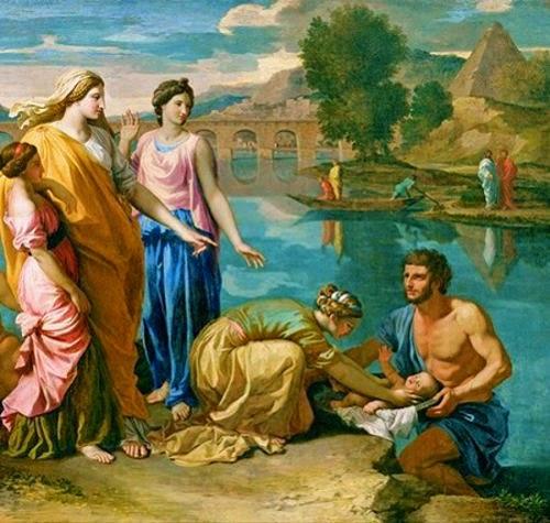 sejarah nabi musa, Musa ditemukan Hatshepsut di Sungai Nil