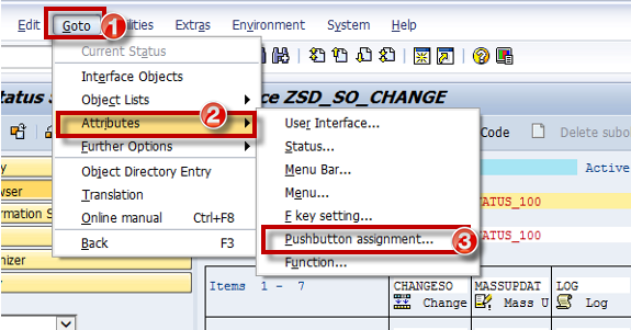 SAP ABAP Enable or Disable / Hide Function Keys on the
