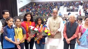 Divyang Swimak Diwanshi won two medals in Indonesia, welcome to Faridabad