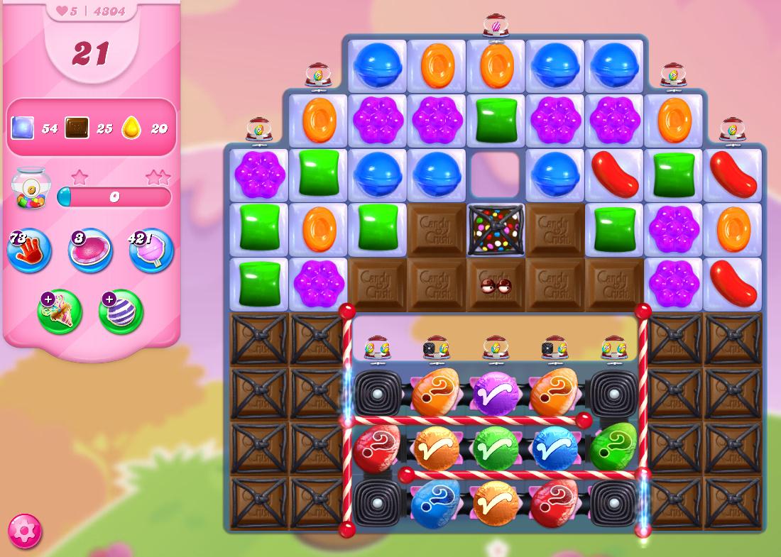 Candy Crush Saga level 4304