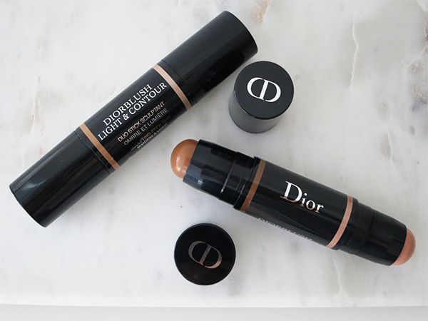 Diorblush Light & Contour Sculpting Stick Duo Shadow & Light in 001 Soft Contour and 002 Medium Contour
