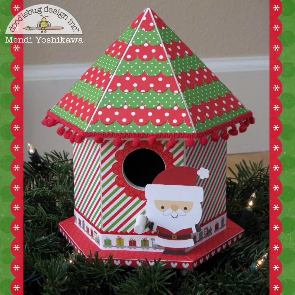 Christmas Birdhouses.Doodlebug Design Inc Blog Chirp Chirp A New Twist On