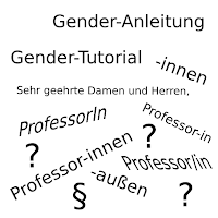 Gender Anleitung Tutorial
