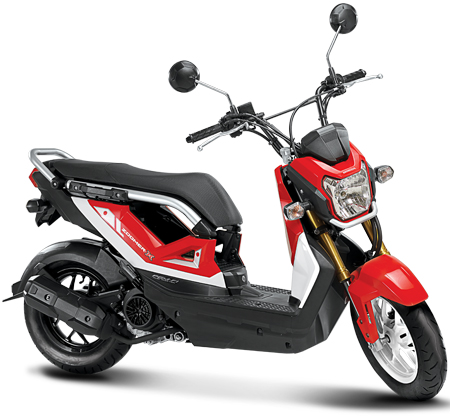 new honda zoomer x specifications and price the motorcycle. Black Bedroom Furniture Sets. Home Design Ideas