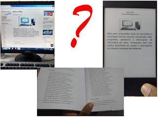 Ler no PC, no e-book ou no papel?