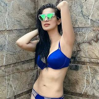 Laxmi Raai Unseen Hot Bikini Video Navel Queens