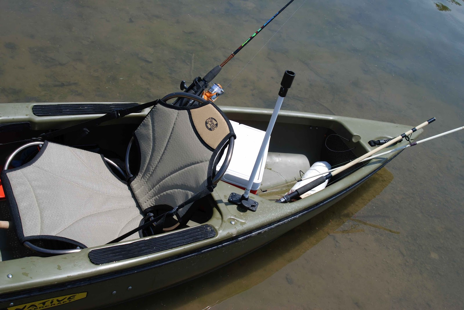 larry chair kayak toddler adirondack plastic old field studio fisherman goes native