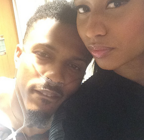 Nicki Minaj visits August Alsina