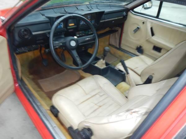 1977 Alfa Romeo GTV Interior