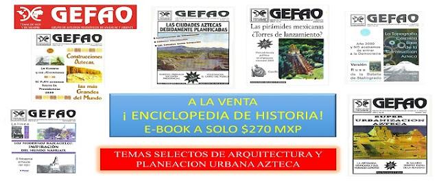 Enciclopedia Historia de México Antiguo, Revista GEFAO