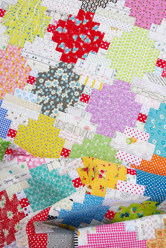 Courthouse Steps Quilt | Red Pepper Quilts 2014