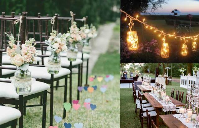 Decoração para Casamentos ao Ar Livre campo