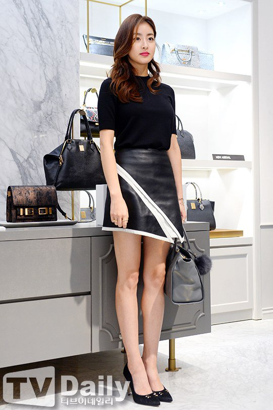 Photo Kang Sora Wows With Her Killer Legs Amp Perfect