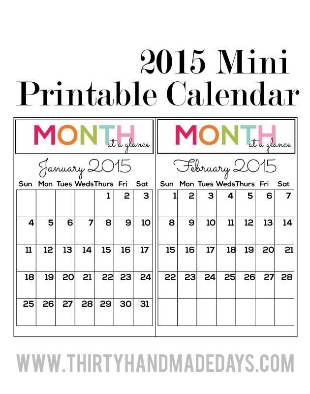 4 month calendar template 2015 - helpingmoms home 5 creative 2015 monthly calendar printables