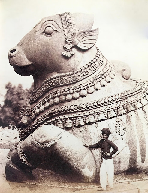 art nandi bull mysore late 19th century 19e siecle toro