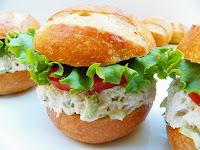 Showing posts sorted by relevance for query herbs. Sort by date Show all posts Chicken Salad Sandwich with Garlic and Herbs Cheese