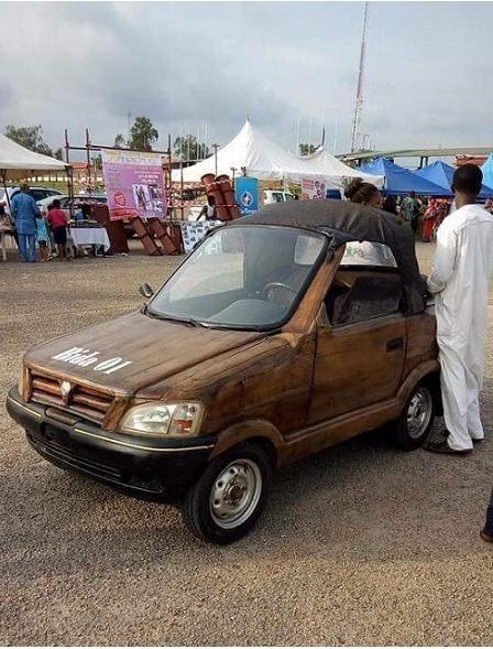 See Amazing Car was Made By a Nigerian Man From Bida (Photos)