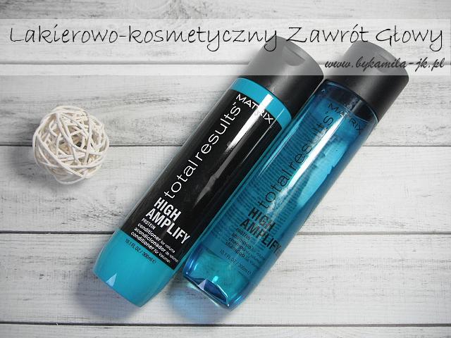 Matrix szampon odżywka Total Results High Amplify