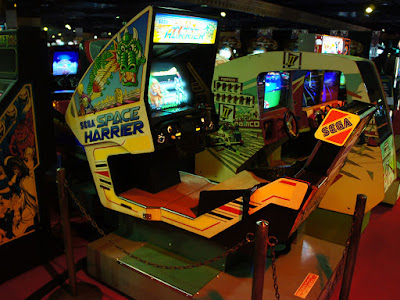Space Harrier cabinet