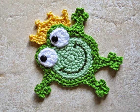 sapo tejido con crochet