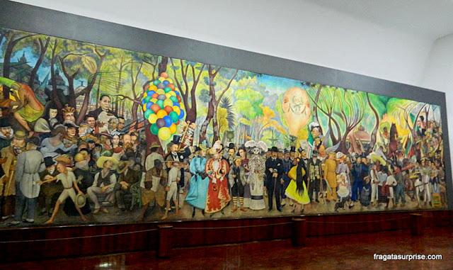 Alameda, mural de Diego Rivera, Cidade do México
