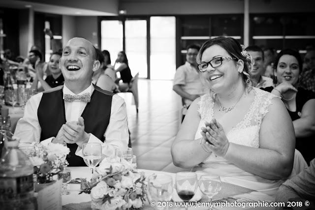 reportage photo noir et blanc portrait des mariés