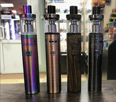 The Eleaf iJust S provide you  a gorgeous vape