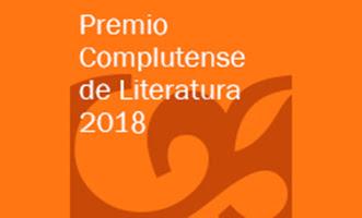 Premio Complutense de Literatura 2018