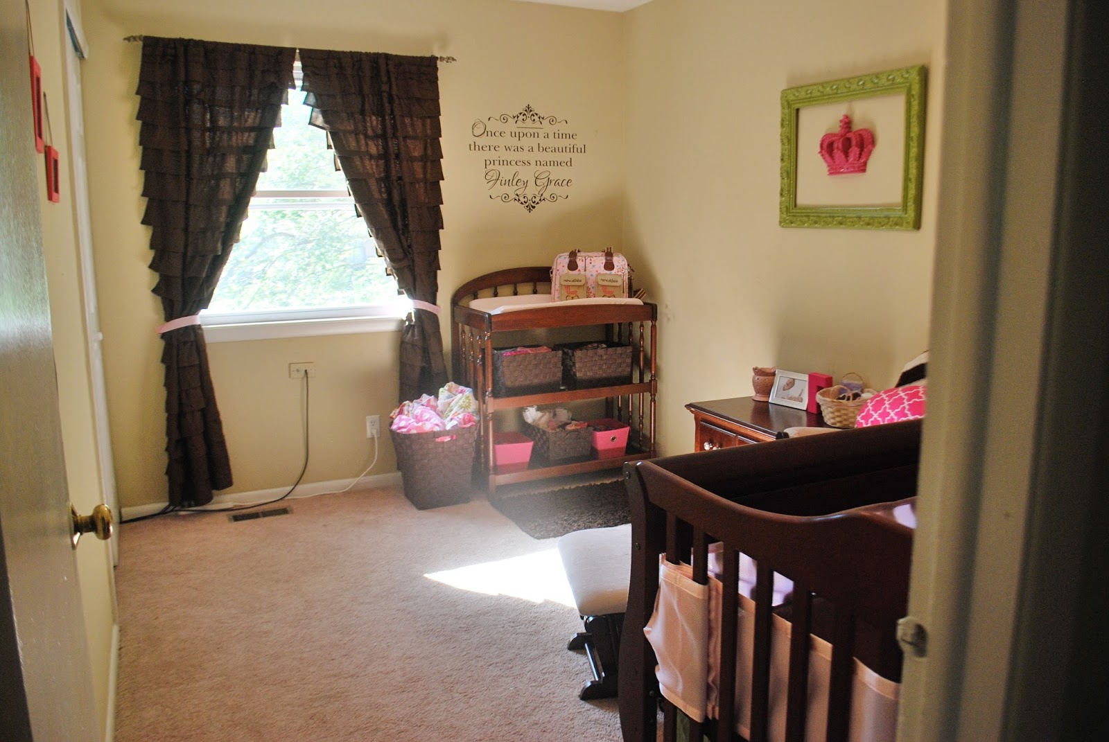 A Room Fit For A Princess {Nursery Reveal}