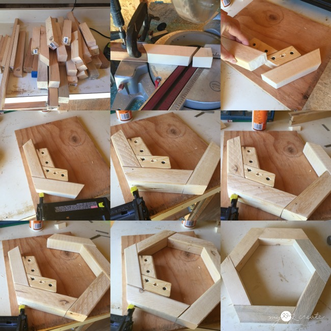 How to build a wood hexagon
