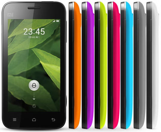 Xiaomi Mi 1S Specifications - LAUNCH Announced 2012, August DISPLAY Type TFT capacitive touchscreen, 16M colors Size 4.0 inches (~56.0% screen-to-body ratio) Resolution 480 x 854 pixels (~245 ppi pixel density) Multitouch Yes BODY Dimensions 125 x 63 x 11.9 mm (4.92 x 2.48 x 0.47 in) Weight 149 g (5.26 oz) SIM Mini-SIM PLATFORM OS Android OS, v4.0 (Ice Cream Sandwich) CPU Dual-core 1.7 GHz Scorpion Chipset Qualcomm MSM8260 Snapdragon S3 GPU Adreno 220 MEMORY Card slot microSD, up to 32 GB (dedicated slot) Internal 4 GB, 1 GB RAM CAMERA Primary 8 MP, f/2.2, 28mm, autofocus, LED flash Secondary 2 MP Features Geo-tagging, touch focus, face/smile detection, HDR Video 1080p@30fps NETWORK Technology GSM / HSPA 2G bands 850 / 900 / 1800 / 1900 3G bands HSDPA 850 / 1900 / 2100 Speed HSPA 14.4/5.76 Mbps GPRS Yes EDGE Yes COMMS WLAN Wi-Fi 802.11 b/g/n, hotspot GPS Yes, with A-GPS USB microUSB v2.0 Radio No Bluetooth v2.1, A2DP FEATURES Sensors Sensors Accelerometer, proximity, compass Messaging SMS(threaded view), MMS, Email, Push Mail, IM Browser HTML5 Java No SOUND Alert types Vibration; MP3, WAV ringtones Loudspeaker Yes 3.5mm jack Yes BATTERY  Removable Li-Ion 1930 mAh battery Stand-by  Talk time  Music play  MISC Colors White, green, blue, red, violet, orange, gray  - MP4/DivX/XviD/WMV/H.264 player - MP3/WAV/eAAC+/FLAC player - Organizer - Photo/video editor - Document viewer  - Voice memo/dial - Predictive text input (Swype)