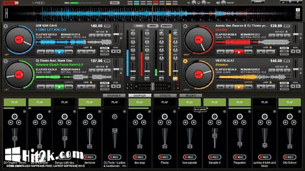 Virtual DJ Pro 8.3 Crack Full Version - Hit2k