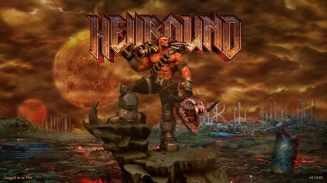 Hellbound la resurrección de los vídeo juegos de los 90!