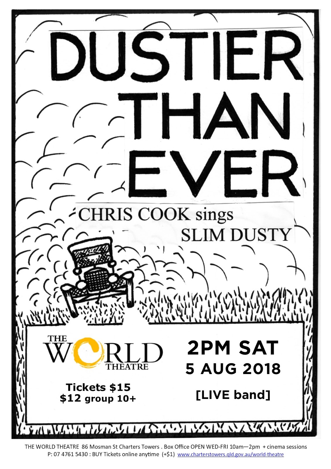 World Theatre Charters Towers Cinema Schedules Special Events Posters