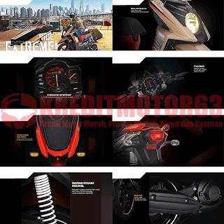 Fitur Spesifikasi Yamaha X Ride