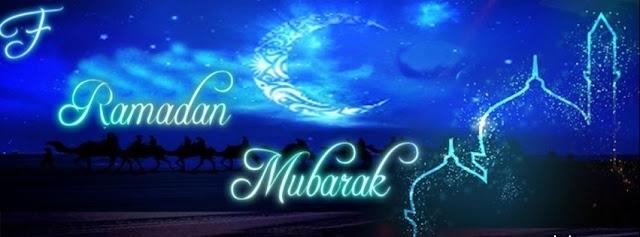 Ramadan Mubarak Facebook Covers
