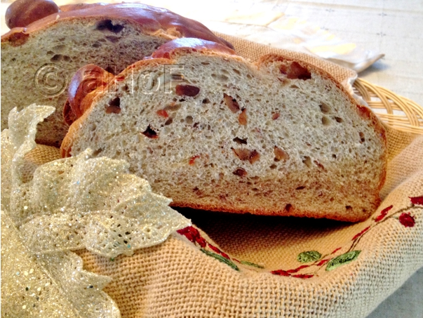 Christopsomos or Greek Christmas Bread